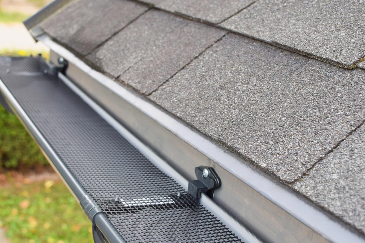 Leaf Free Gutter Guard Installation in Perth