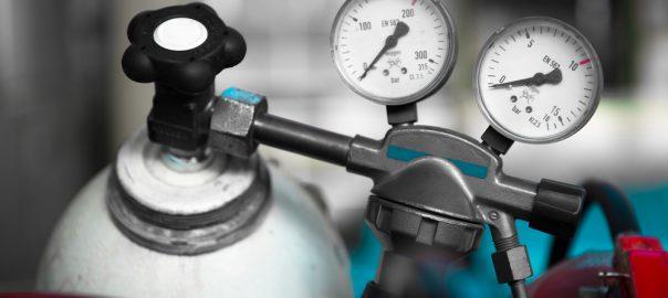 Two pressure gauge